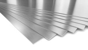 Лист нержавеющего металла в размер