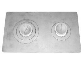 Плита двухконфорочная П2-3 (Б)