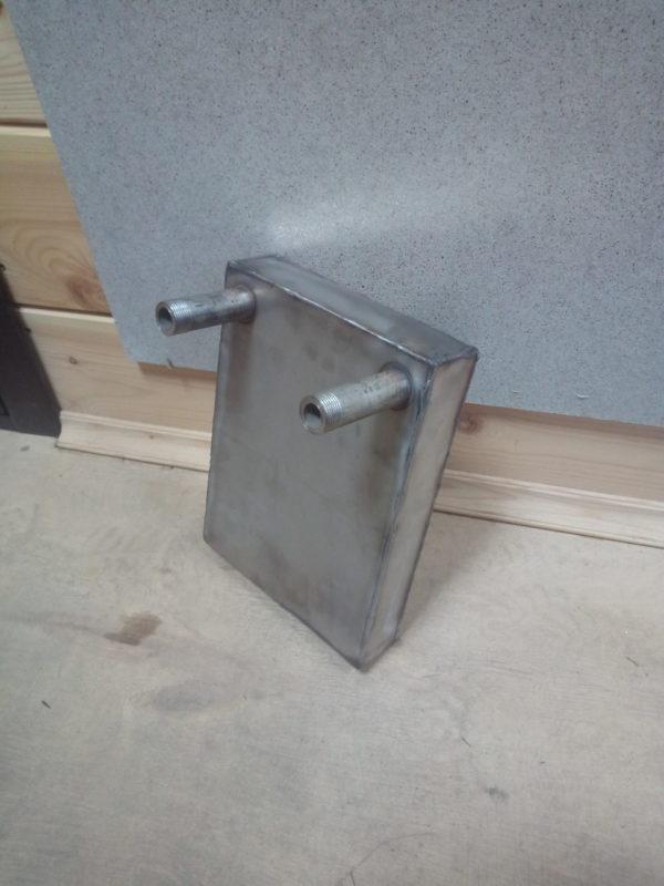 Теплообменник в печь, прямой