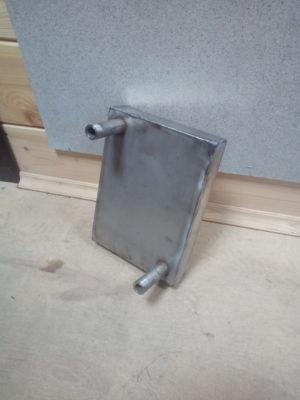 Теплообменник в печь, прямоугольный