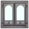 Дверца каминная 2-х створчатая LK 300