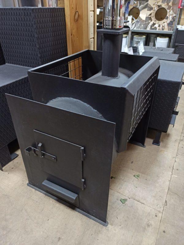 "Печка для бани с тоннелем ""Туба"""