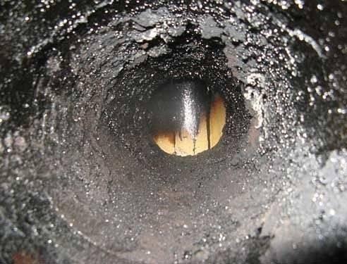 Скопление конденсата в дымоходе
