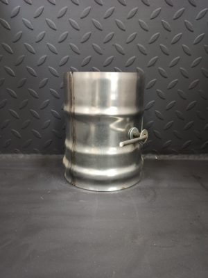 Шибер-заслонка поворотная из нержавеющей стали  <br>AISI 430