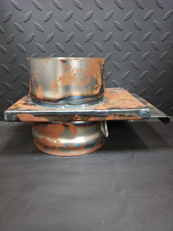 Шибер-задвижка из черной стали СТ-3