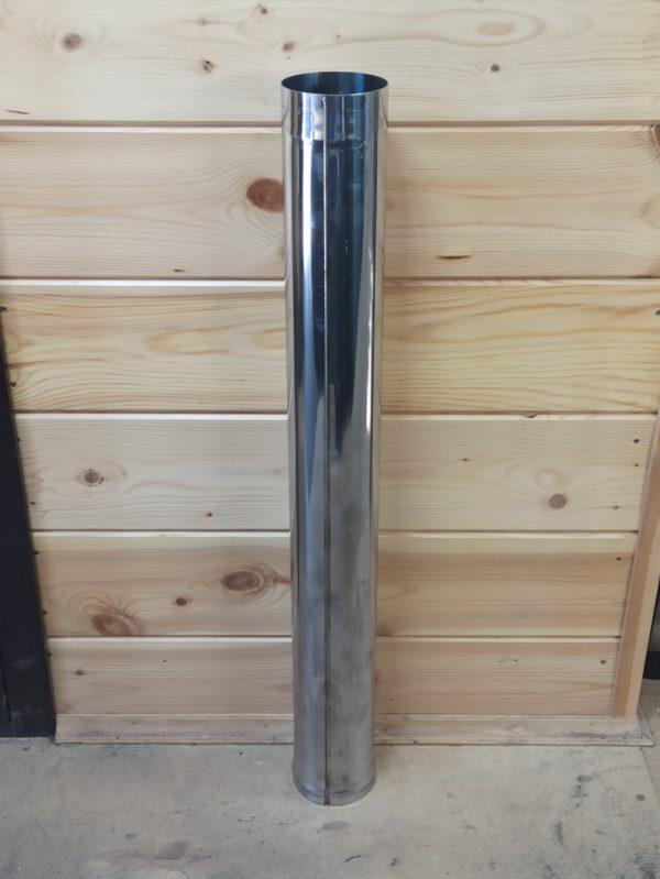Труба одностенная из нержавеющей стали AISI 430, L=1 метр