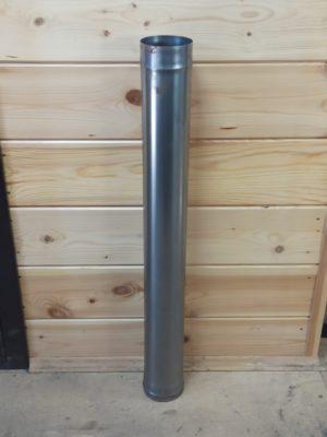 Труба одностенная из черной стали СТ-3, <br> L=1 метр