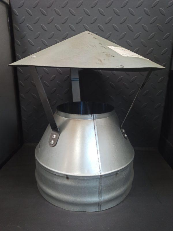 Оголовок (зонт) для сэндвич-дымохода из оцинкованного металла