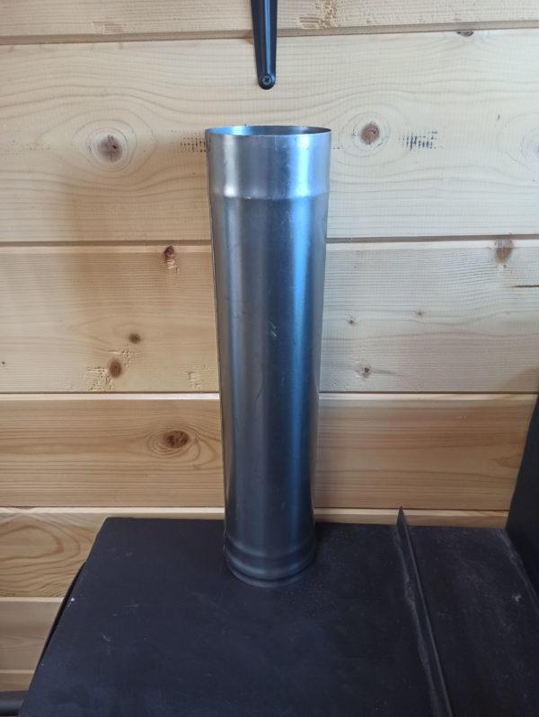 Труба одностенная из черной стали СТ-3, L=0,5 метра